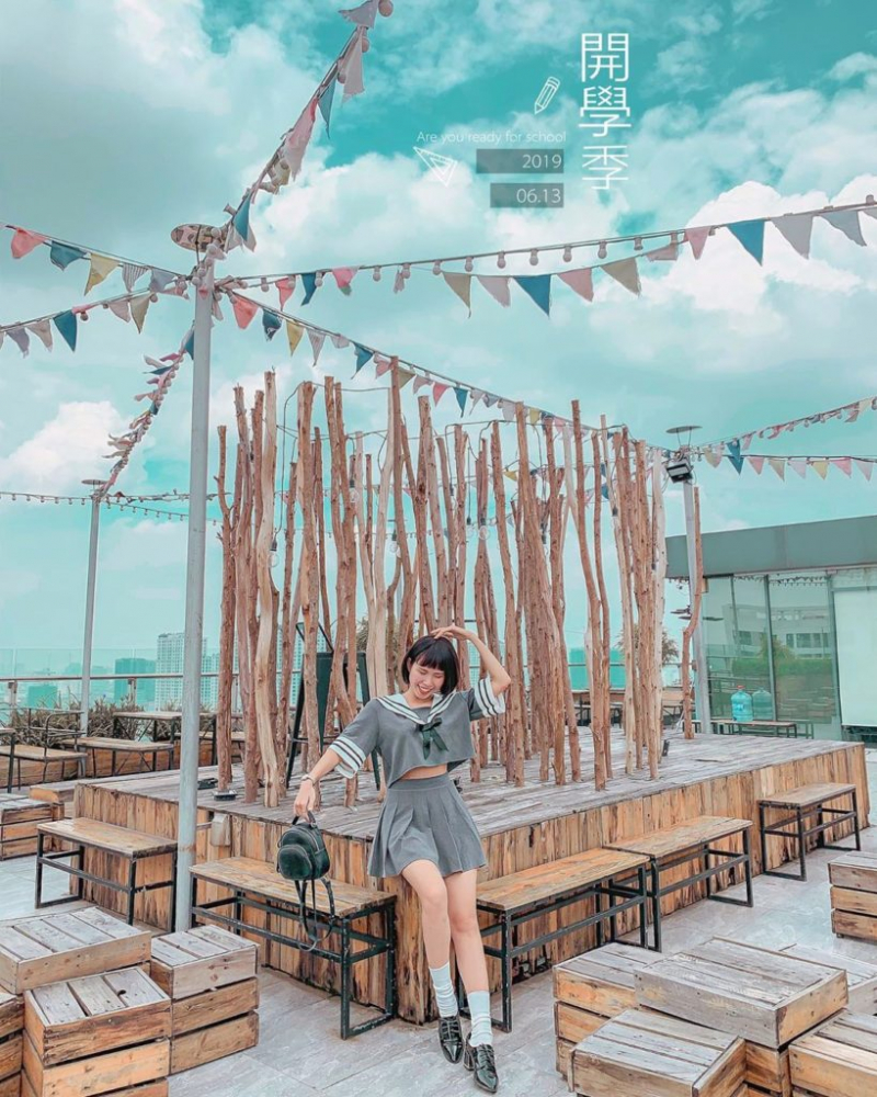 Trill Rooftop Cafe – Hei Tower