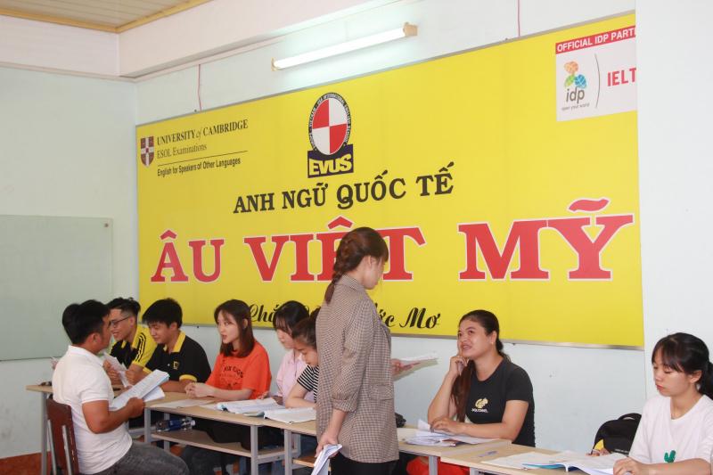 Anh Ngữ Âu Việt Mỹ có môi trường học tập hiện đại, hiệu quả