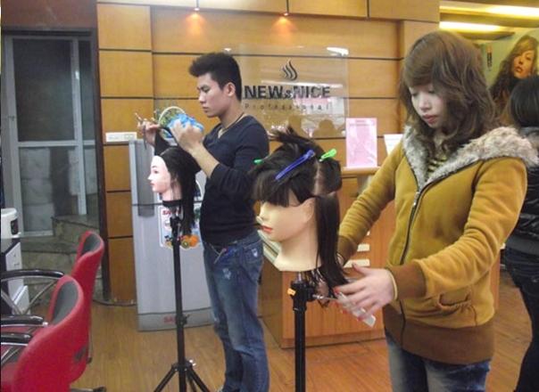 Trung tâm đào tạo nghề tóc New&nice - nơi đào tạo nghề tóc uy tín nhất tại Hà Nội