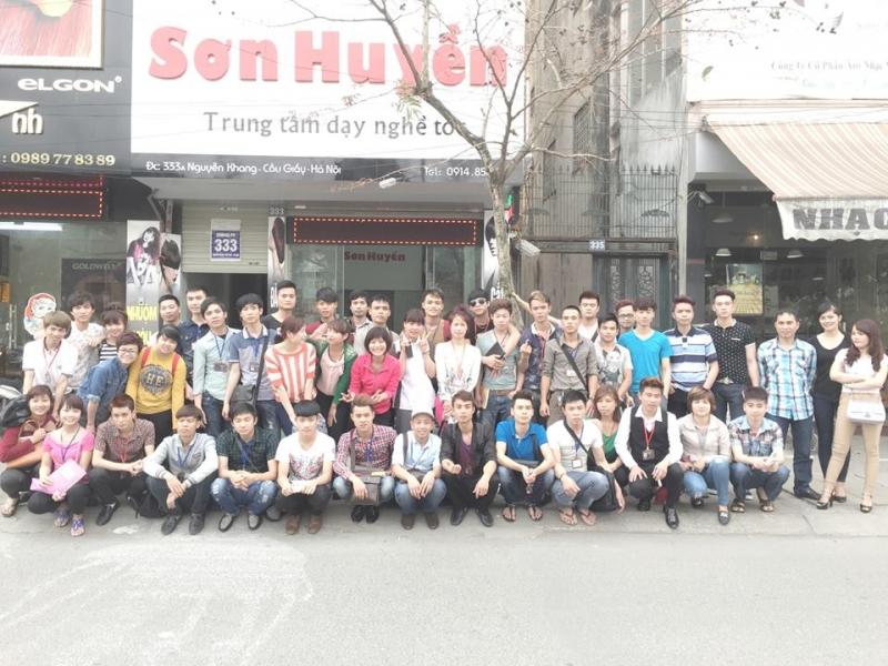 Trung tâm dạy nghề tóc Sơn Huyền - nơi đào tạo nghề tóc uy tín nhất tại Hà Nội