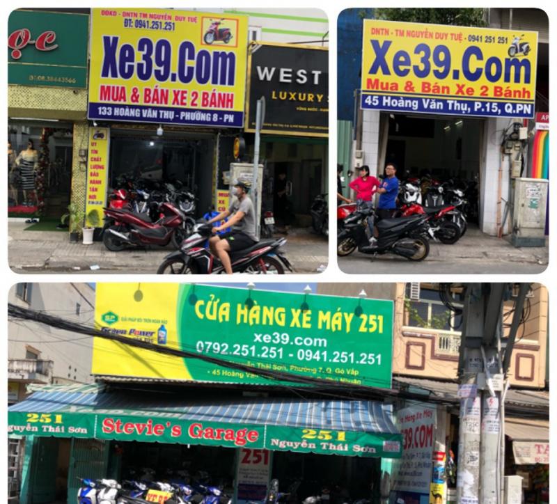 Trung tâm mua xe máy cũ Xe39.com