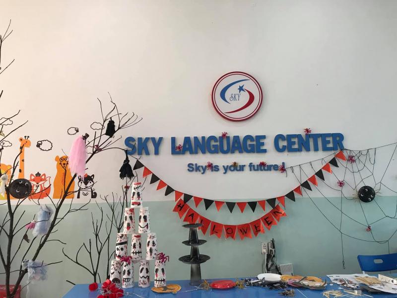 Hoạt động ngoại khóa trung tâm ngoại ngữ Sky