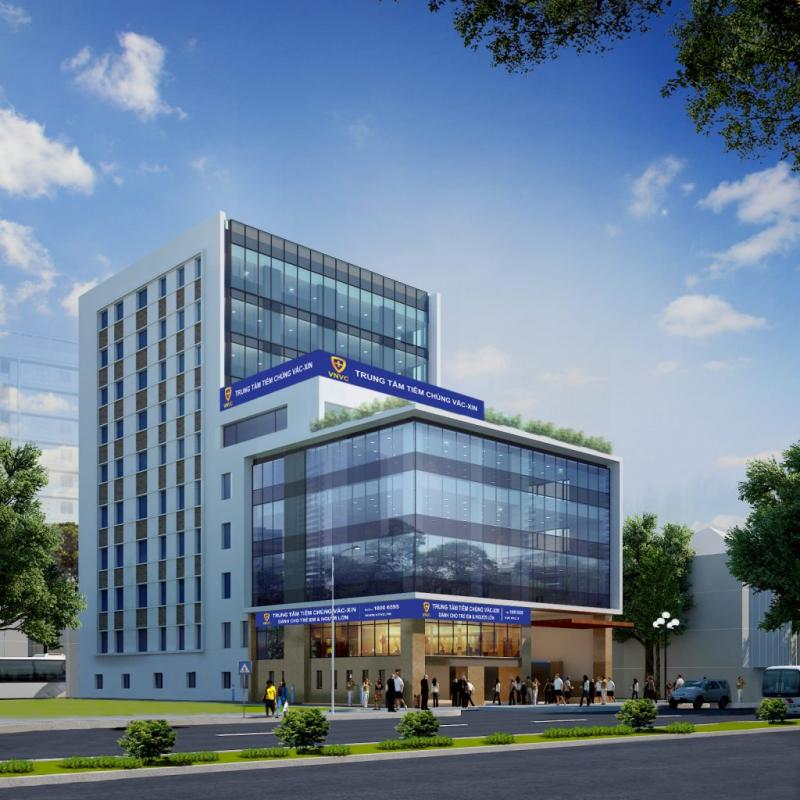 Trung tâm tiêm chủng VNVC.