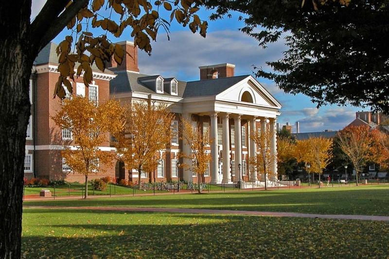 Sự trang nhã trong khung cảnh của đại học Delaware