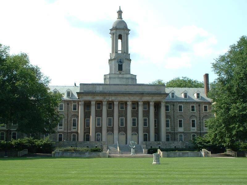 Đại học Penn với thiết kế giống như một viện bảo tàng