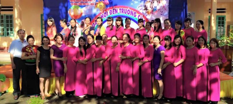 Trường Mầm non Hoa Hồng Yên Bái