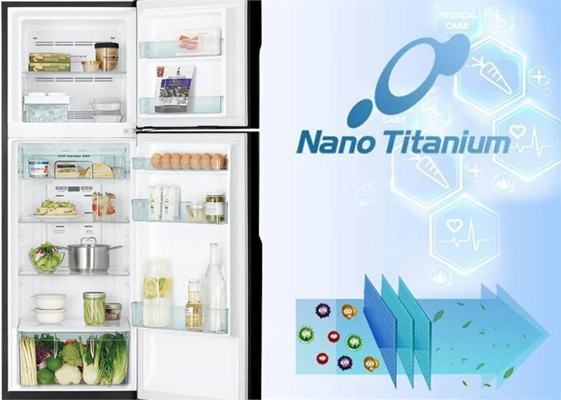 Tủ lạnh Hitachi H350PGV7-BSL