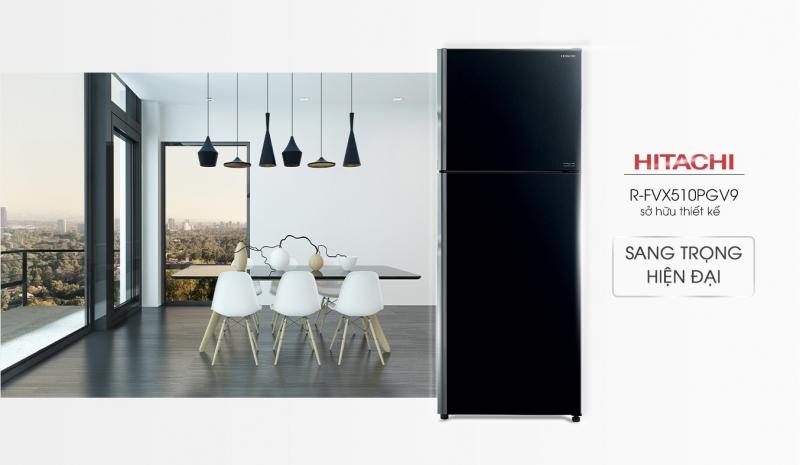 Tủ lạnh Hitachi R-FVX510PGV9(GBK) 406L