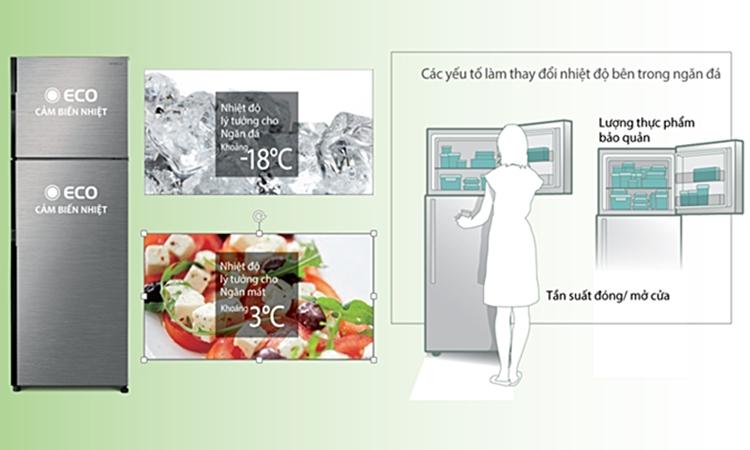 Tủ Lạnh Inverter Hitachi R-H350PGV7-BBK