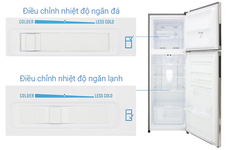 Tủ lạnh NutriFresh® Inverter ngăn đá trên 260 lít ETB2802H-A