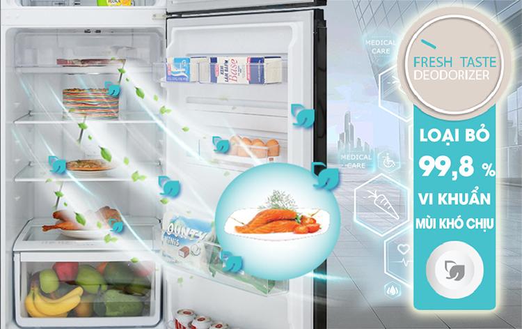 Tủ lạnh NutriFresh® Inverter ngăn đá trên 320 lít ETB3400H-H