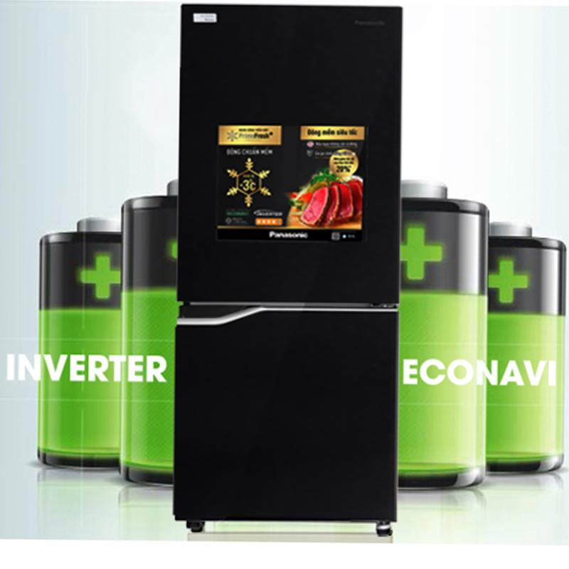 Tủ trang bị công nghệ Inverter, kết hợp cảm biến Econavi giúp gia đình bạn tiết kiệm điện năng hơn