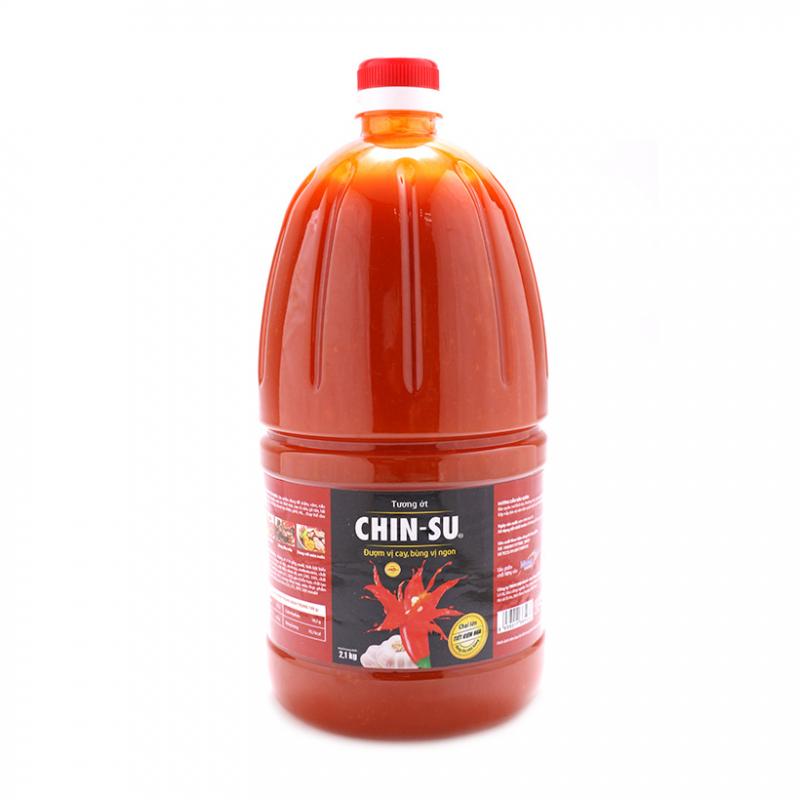 Chinsu còn sản xuất ra loại tương ớt loại to, phù hợp cho các quán ăn, nhà hàng