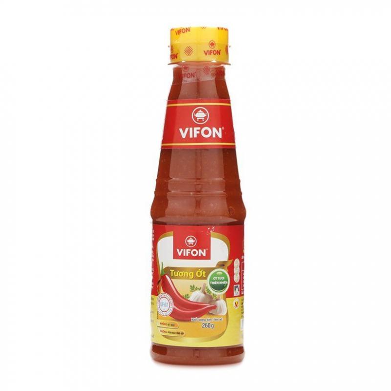 Cay ngon trong từng lần chấm là cảm nhận chủ yếu của thực khách khi thưởng thức món ăn cùng tương ớt Vifon.