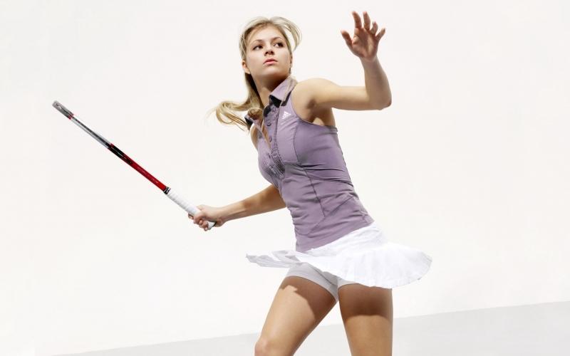 VĐV quần vợt Maria Kirilenko được ví như búp bê của làng thể thao nước Nga