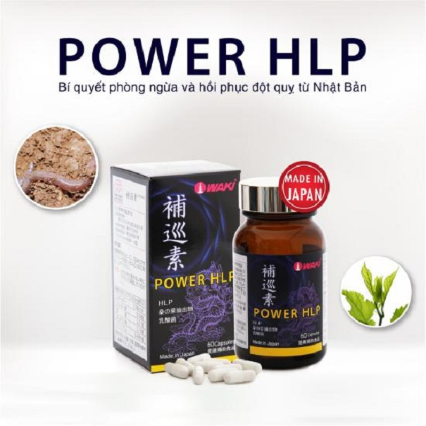 Viên uống phòng ngừa và hồi phục đột quỵ Power HLP Nhật Bản