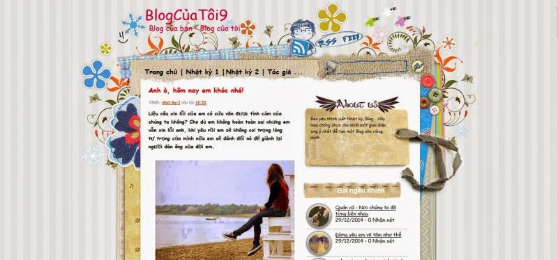Viết blog/nhật kí