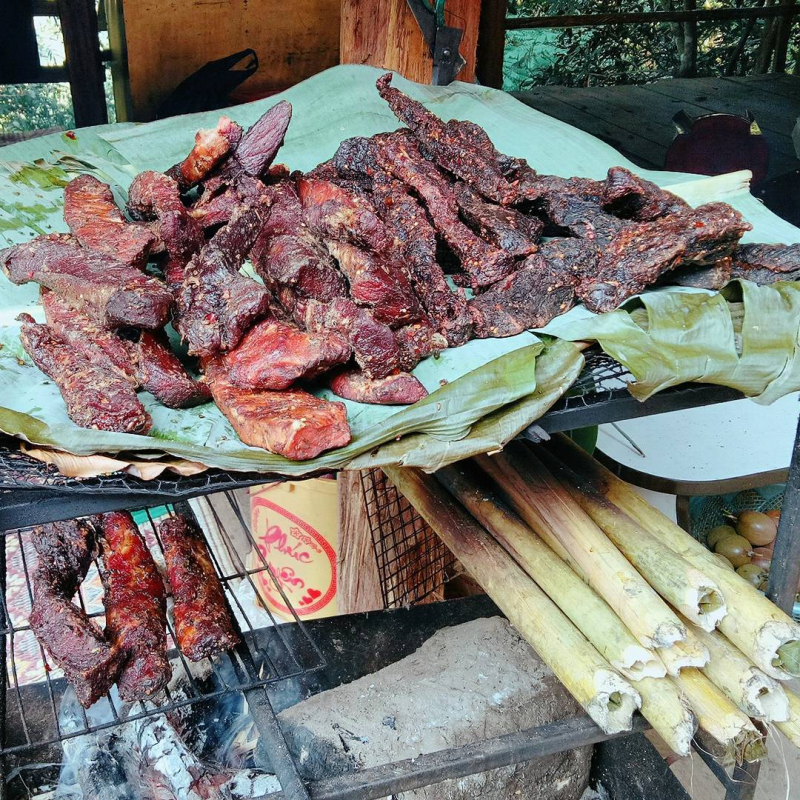 Thịt trâu gác bếp - A Páo