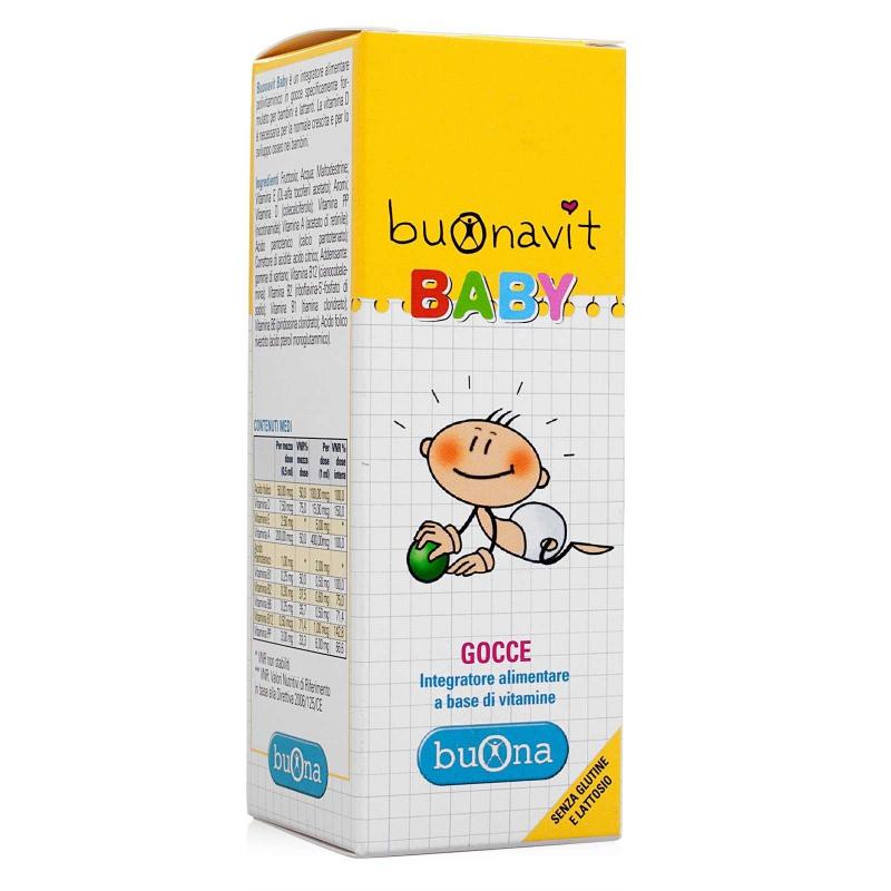 Vitamin tổng hợp cho bé BuonaVit Baby