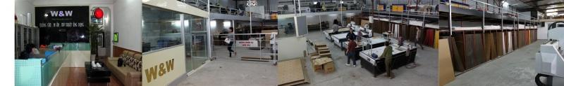 W&W có hệ thống nhà xưởng rộng rãi, xứng tầm một công ty quảng cáo lớn.