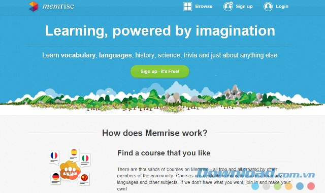 Website: Memrise