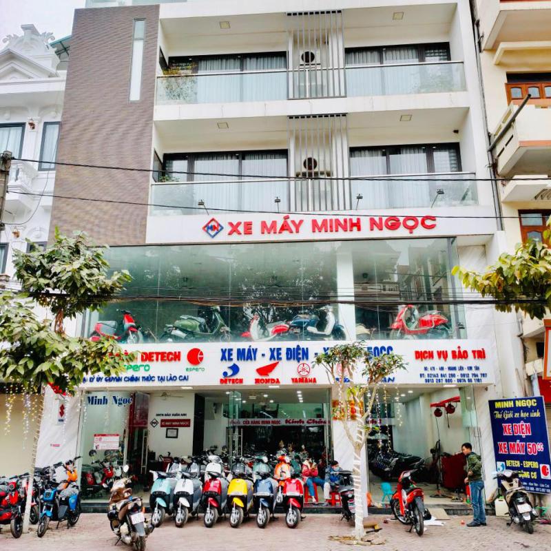 Cửa hàng xe điện Minh ngọc
