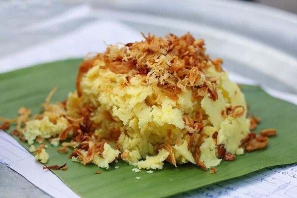 Xôi Đà Nẵng cũng là món ăn được nhiều người chọn làm quà sáng.