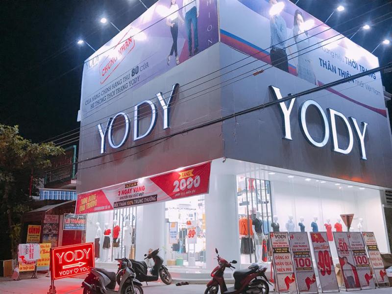 Yody Thanh Hoá có phong cách phục vụ chuyên nghiệp, thân thiện.