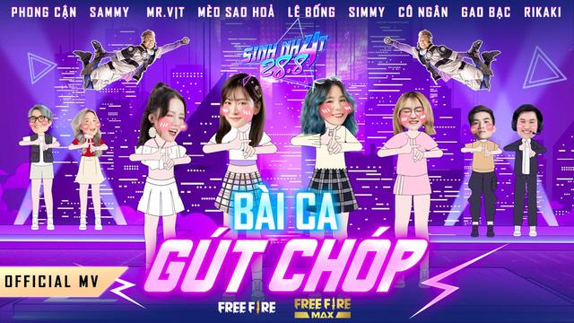 """Lê Bống gây sốc khi khoe giọng hát, cùng hai rapper đình đám làng game """"debut"""" MV mới của Bộ Tứ Công Chúa"""