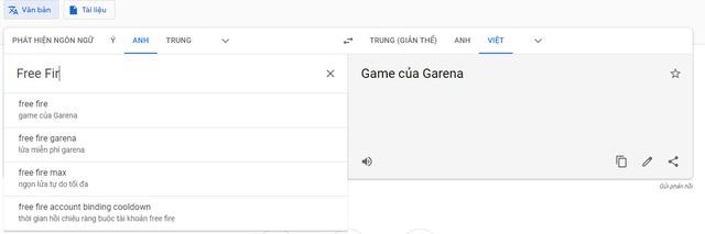 Cạn lời ý thức trẻ trâu, game thủ Lửa Chùa phá tan tành Google Dịch thành như thế này đây