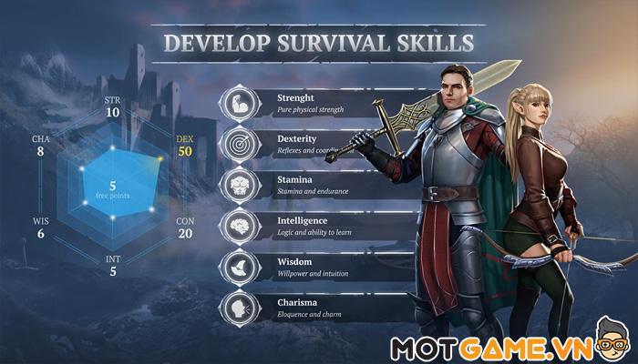 Craft of Survival – Game sinh tồn giả tưởng thế hệ mới
