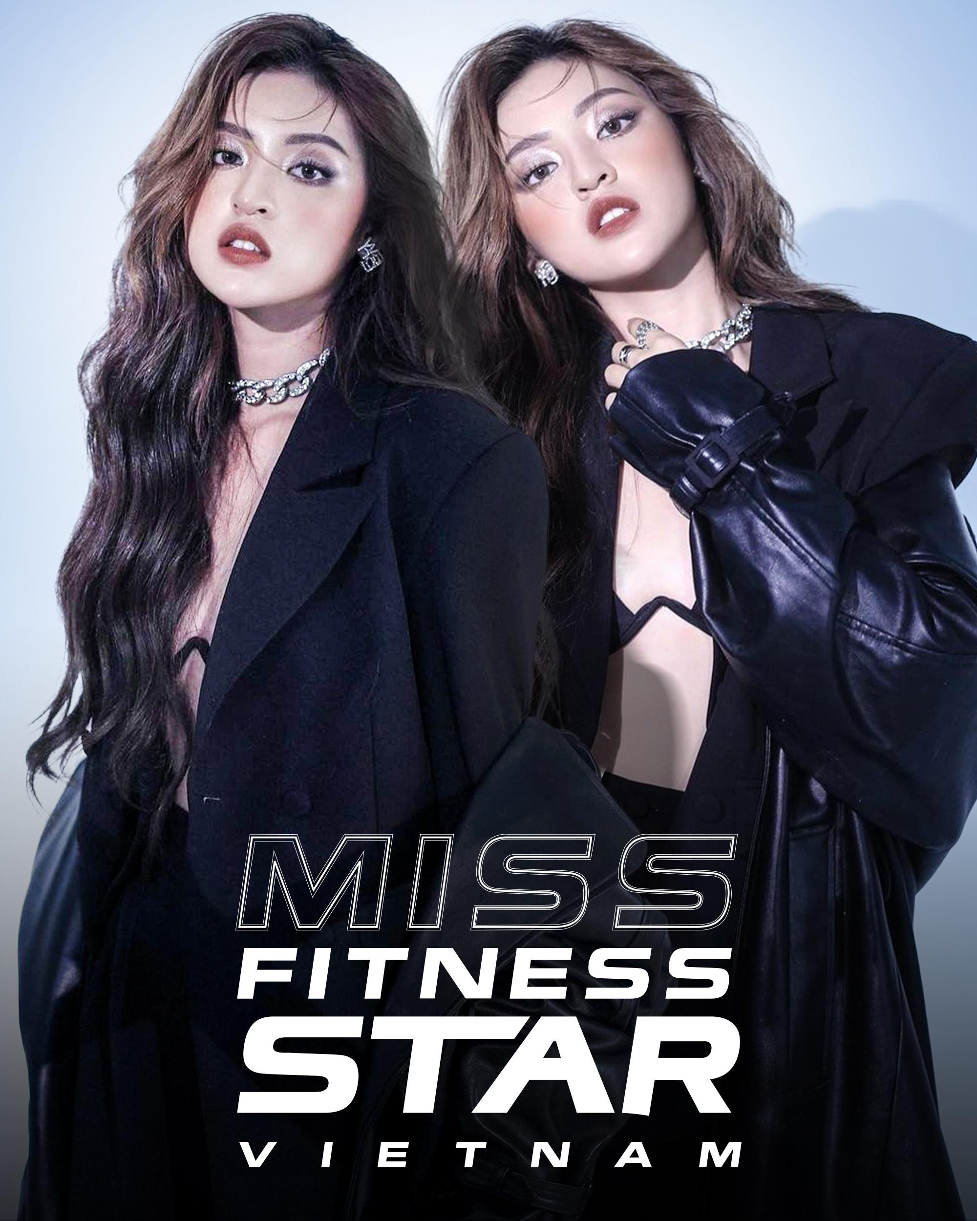 'Hot girl trứng rán', bản sao Tiểu Vy 'gây sốt' tại Miss Fitness Star Vietnam