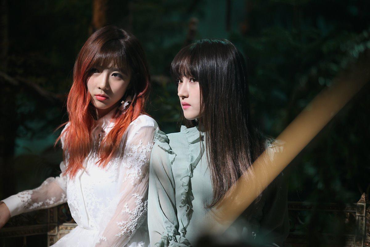 Nhóm nhạc nữ chuộng phong cách kinh dị của Kpop