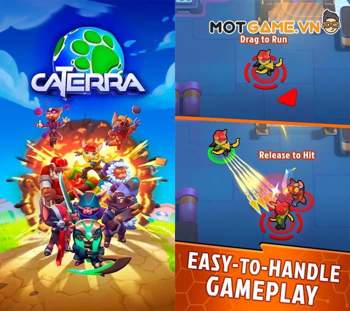 Caterra: Battle Royale – Game sinh tồn với hệ thống tiến hóa sức mạnh anh hùng!