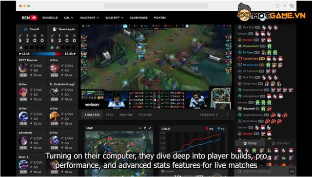 Riot Esports Network, ứng dụng dành riêng cho fan của Riot Games