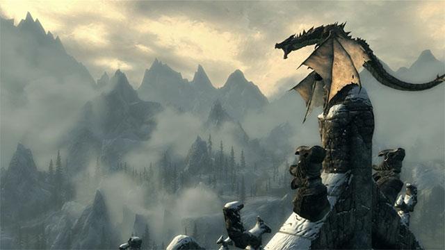 Skyrim tung bản game kỷ niệm 10 năm với tính năng câu cá