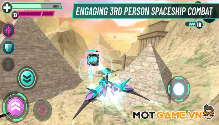 Space Cobras 3000 – Division Omega game bắn máy bay xuyên dải ngân hà!