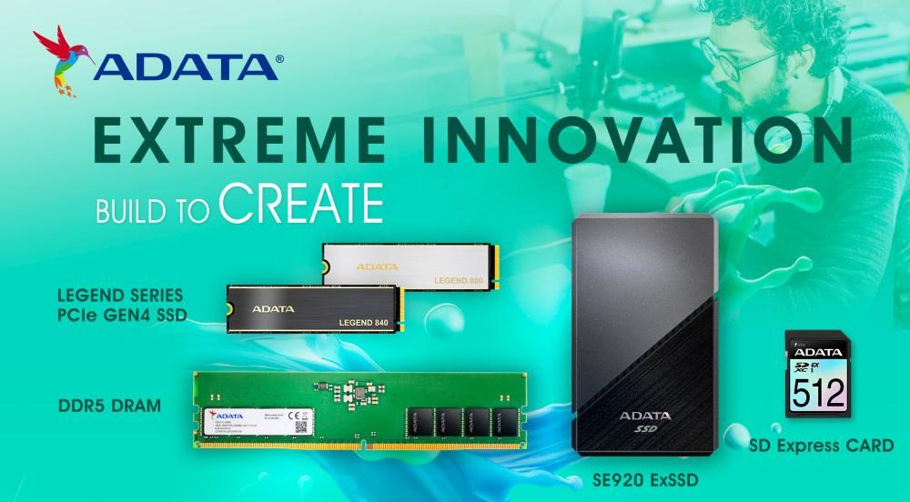 Adata giới thiệu loạt sản phẩm mới cho game thủ tại Xtreme Innovation