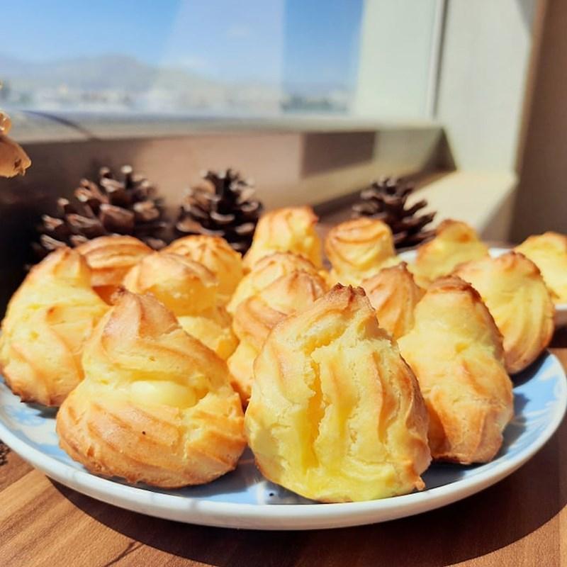 Top 6 Cách làm Bánh xu kem béo thơm, hấp dẫn nhất