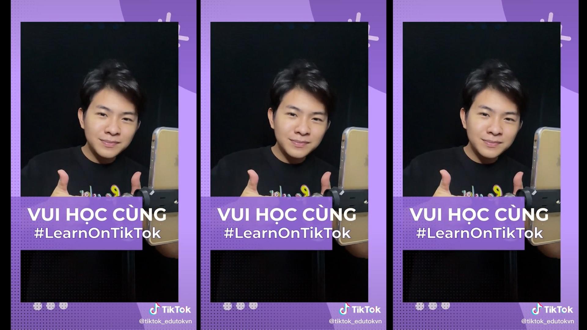 Ở nhà ngày dịch, giới trẻ Việt dành hàng tỉ lượt xem video giáo dục trên TikTok