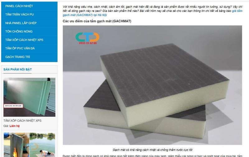 Top 6 Cửa hàng bán vật liệu cách âm uy tín, giá tốt ở Hà Nội