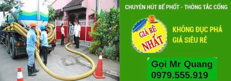 Top 9 Công ty hút bể phốt uy tín tại quận Hai Bà Trưng, Hà Nội