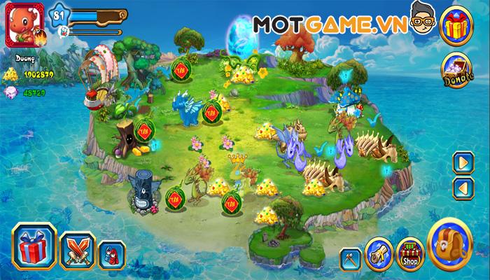 Đảo Rồng Mobile mang kỷ niệm tuổi thơ trở lại với phiên bản hoàn chỉnh