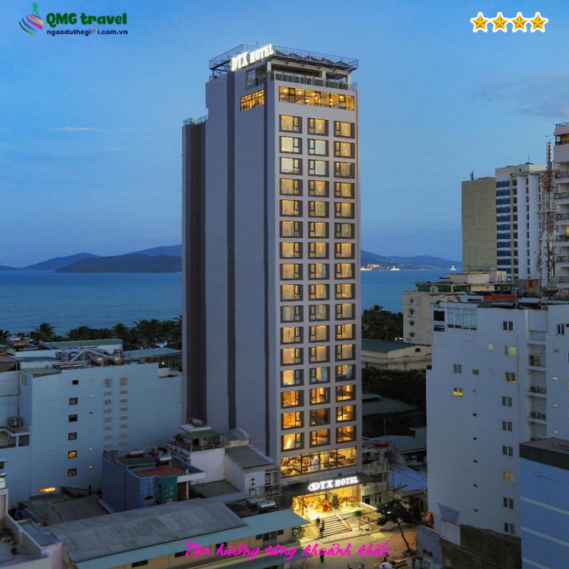 Top 10 Khách sạn 4 sao tốt nhất TP. Nha Trang, Khánh Hòa