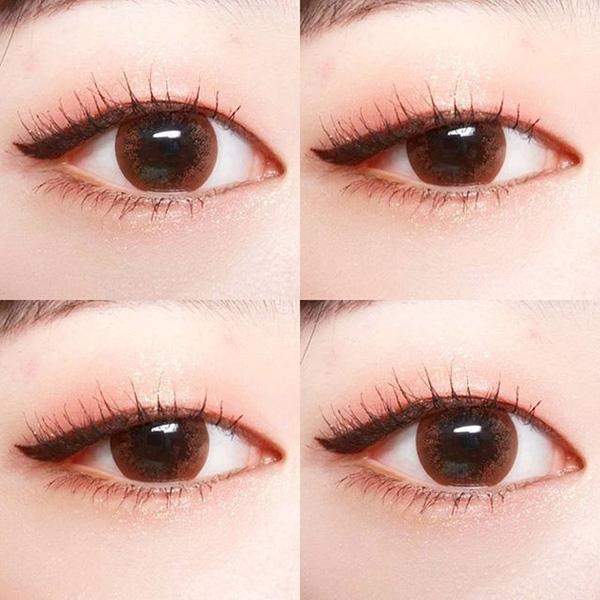 Top 10 Cách trang điểm cực dễ thương kiểu Hàn cho mắt không rõ mí