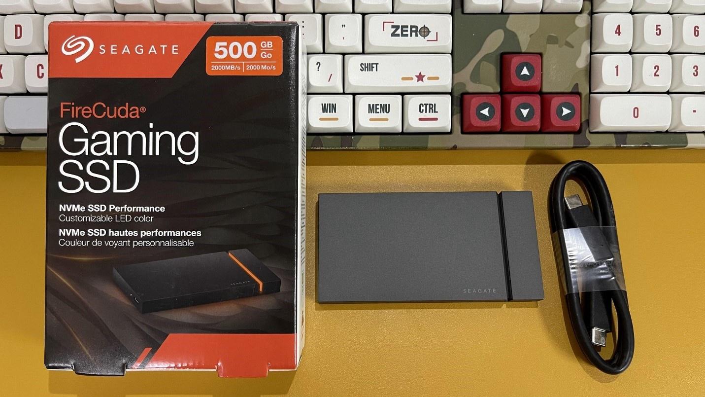 Seagate Firecuda Gaming SSD – Ổ cứng di động chuyên game