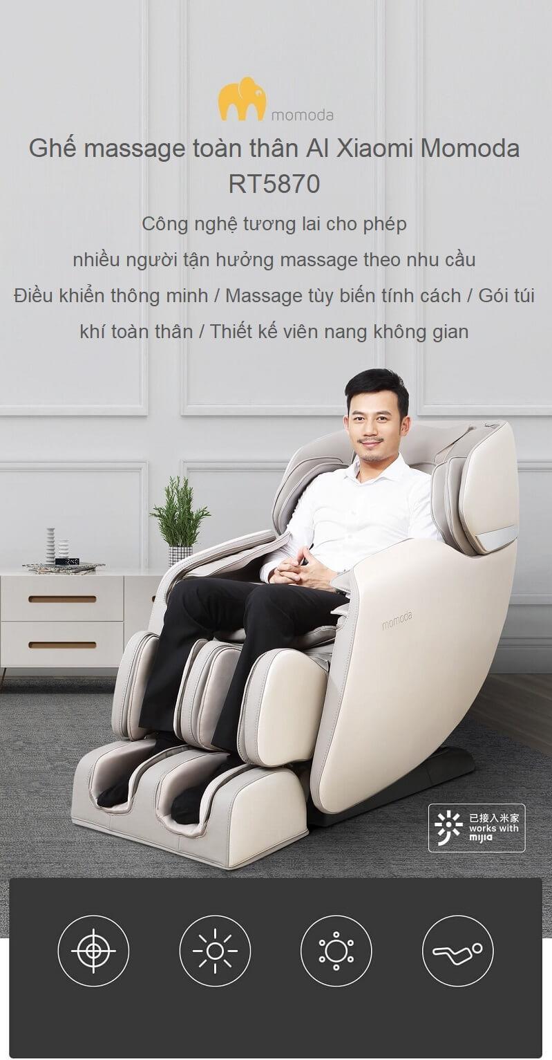 Top 6 Ghế massage Xiaomi tốt, được ưa chuộng nhất trên thị trường hiện nay