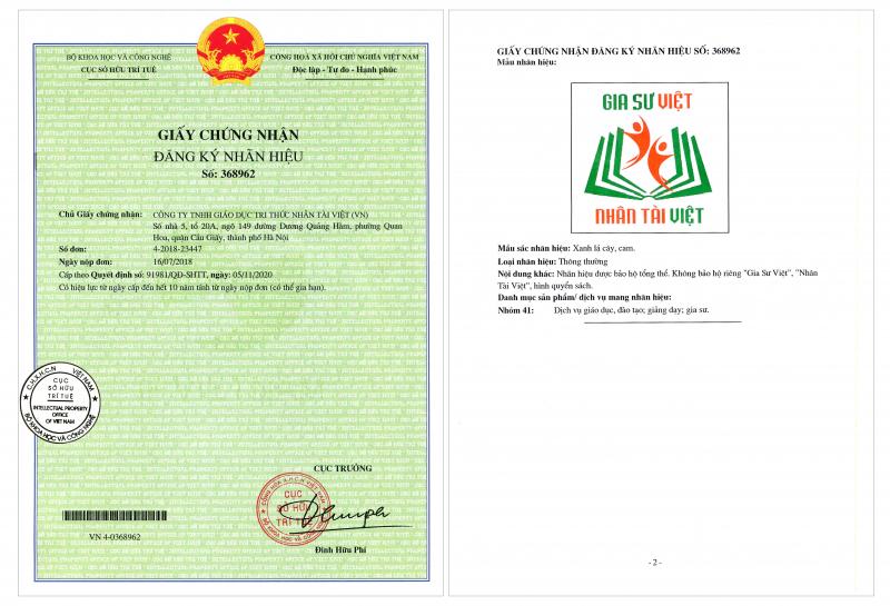 Top 10 Trung tâm gia sư uy tín và chất lượng nhất ở Hà Nội