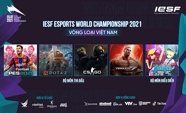 Giải thể thao điện tử vô địch thế giới 2021 – Vòng loại Việt Nam chính thức khởi tranh