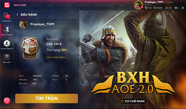 Ghi nhận thêm các ý kiến từ cộng đồng, GTV ấn định ngày ra mắt AoE Ranking trên GPlay